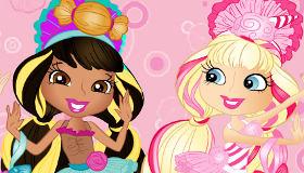 Las Candypop se maquillan