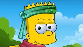 Vestir a Bart Simpson