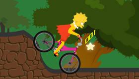 El viaje en bici de Lisa Simpson