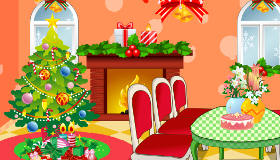 Decora el salón para Navidad