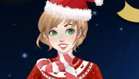 Juego de maquillaje para Navidad