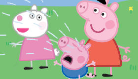 Peppa Pig rompecabezas