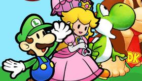 Mario Bros y la princesa Peach