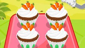 Pasteles de zanahoria con Bugs Bunny