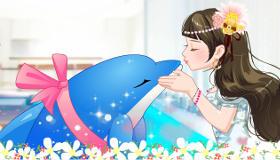 Besos de delfín