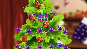 Decorar un árbol navideño