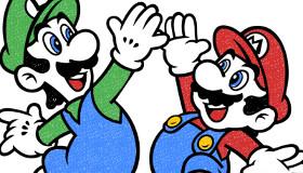 Mario para colorear