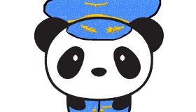 Osos panda para dibujar