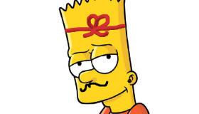 Dibujos de pintar a los Simpson