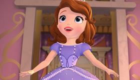 Princesa Sofía busca las llaves