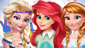 Selfie de princesas