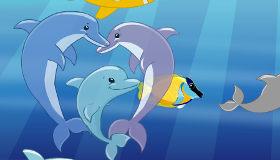 Delfines para niños