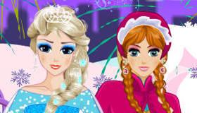 Anna y Elsa, Princesas de Frozen