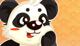 Juego de memoria de panda