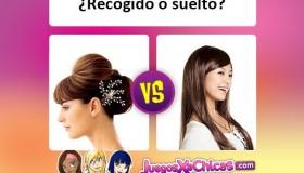 ¿Qué peinado es mejor? ¿Recogido o suelto?