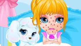 Barbie cuando era bebé