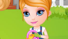 Niñera de Barbie bebé
