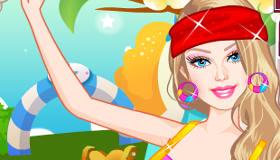 Vestir a Barbie para pilates