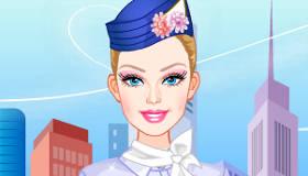 Barbie azafata