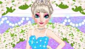 Elsa boda en Frozen