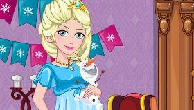 Elsa embarazada de compras