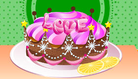 Cocinar pasteles con amor