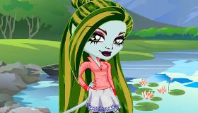 Juego de Monster High Freaky fusion