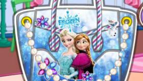 Diseña un bolso de Frozen