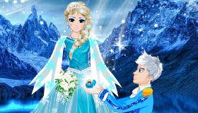 Elsa y Jack Frost pedida de mano