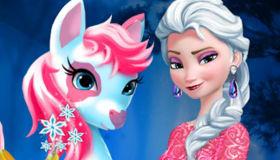 Elsa y el poni mágico
