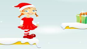 Llevar los regalos a Papá Noel