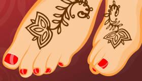 Nail art y tatuajes de henna