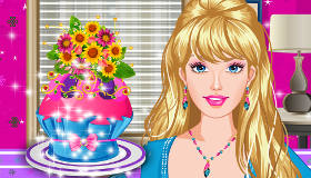 Cupcakes con Barbie