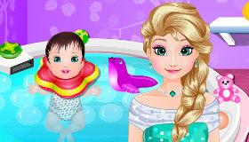 El Spa para bebés de Frozen