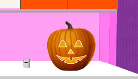 Tallar una calabaza de Halloween