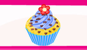 El puesto de cupcakes