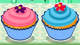 Cupcakes recién hechos
