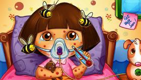 Cuando una abeja picó a Dora