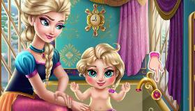 Elsa y su bebé