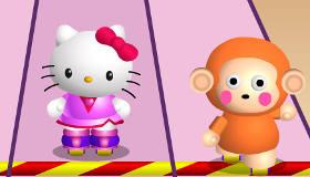 Juego de Hello Kitty de patinar