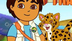 Juega con Diego, el primo de Dora la exploradora