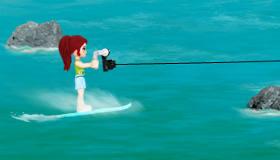 Lego Friends esquí acuático