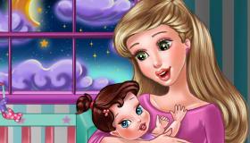 Juego de mamá con bebé