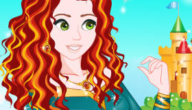 La princesa Merida cambia de look