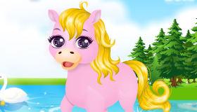 Juego de Cuidar a Monchina la poni gratis  Juegos Xa Chicas