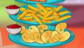 Patatas cien por cien caseras