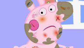 Peppa Pig en el médico