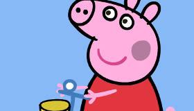 Peppa Pig para pintar