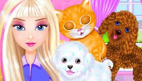 Salón de belleza para mascotas