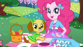Pinkie Pie mascotas de Equestria